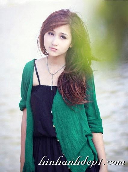 Hình hot girl cực xinh trên facebook đẹp dịu dàng 19