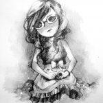 Hình vẽ chibi đẹp cute, dễ thương