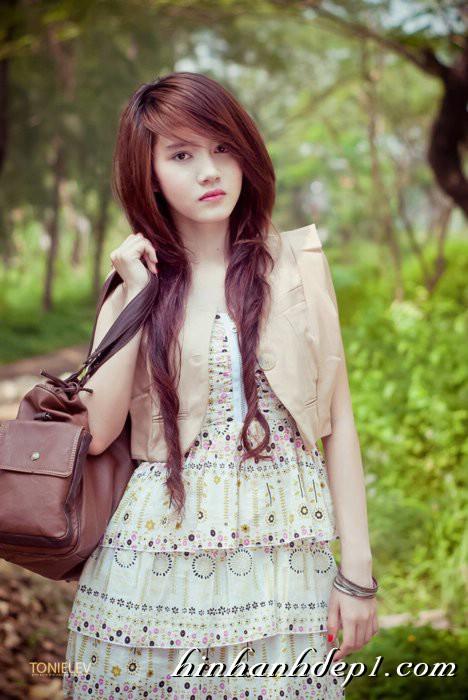 Hình hot girl cực xinh trên facebook đẹp dịu dàng 4