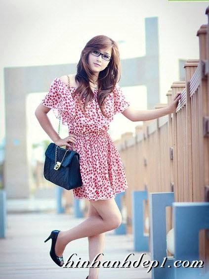 Hình hot girl cực xinh trên facebook đẹp dịu dàng 5