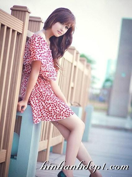 Hình hot girl cực xinh trên facebook đẹp dịu dàng 6