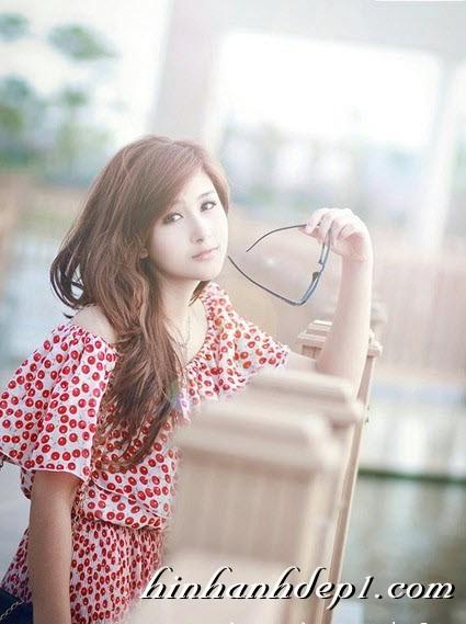 Hình hot girl cực xinh trên facebook đẹp dịu dàng 7