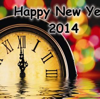 Ảnh nền năm mới 2014 độc đáo