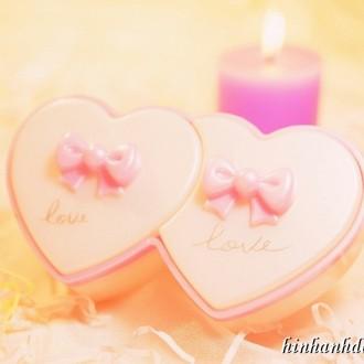 Lãng mạn cùng ảnh nền trái tim