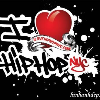 Cá tính cùng hình ảnh nền Hip Hop