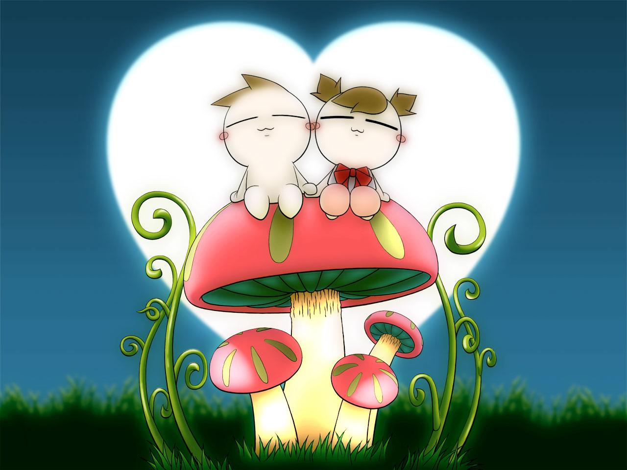 Những tấm hình ảnh động cực cute trong tình yêu