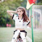 Ảnh hotgirl Lilly Luta xinh đẹp trong mùa World Cup