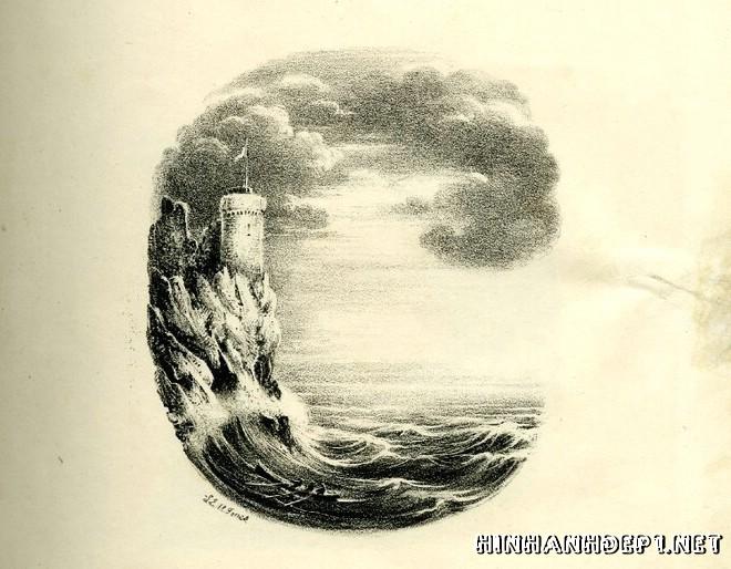 Ảnh nền bảng chữ cái đẹp được tạo từ thiên nhiên (2)
