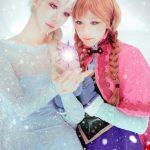 Phim Frozen và hình ảnh nữ cosplay xinh đẹp