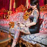 Thiếu nữ với bộ hình xăm độc đẹp và khủng nhất Việt Nam