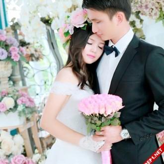 Ảnh cưới đẹp của hotgirl bán thịt lợn
