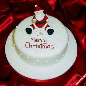 Những mẫu hình ảnh bánh sinh nhật chủ đề Noel