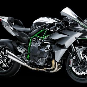 Hình ảnh siêu mô tô phân khối lớn Kawasaki Ninja-H2R
