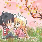 Những hình ảnh hoạt hình đẹp về tình yêu cực dễ thương