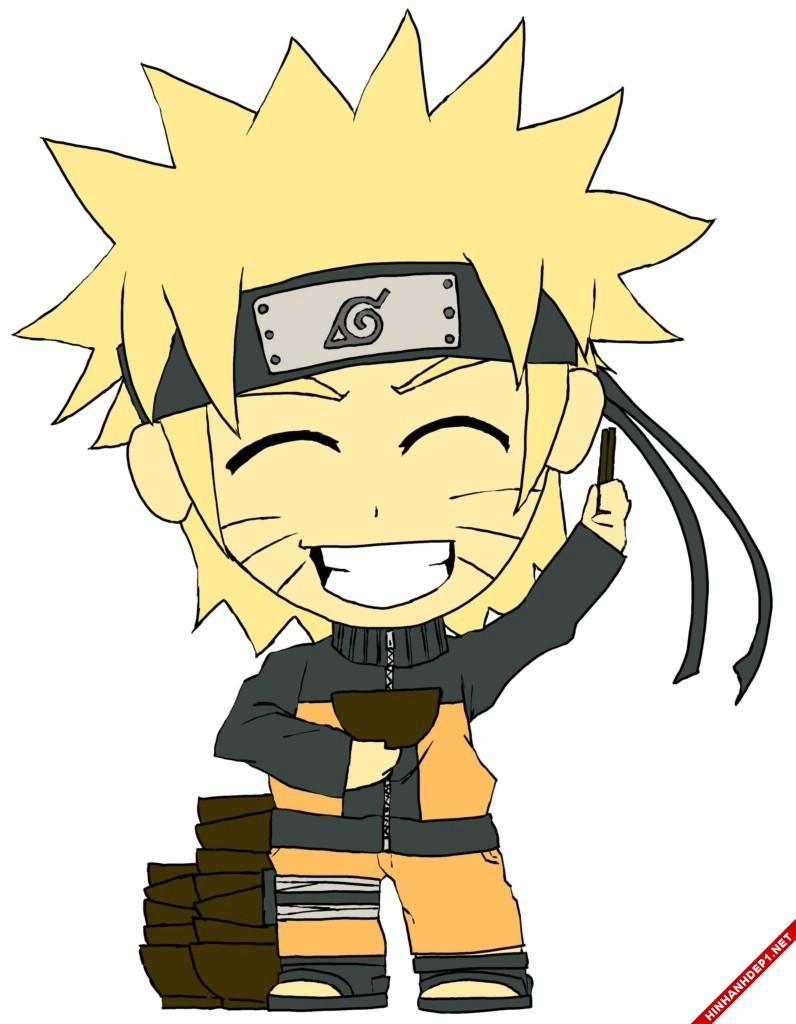 Ảnh đẹp chibi Naruto dễ thương