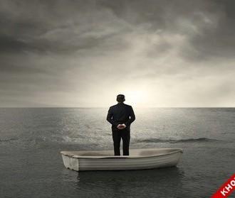 Hình ảnh nền buồn bã vì sự cô độc lẻ loi