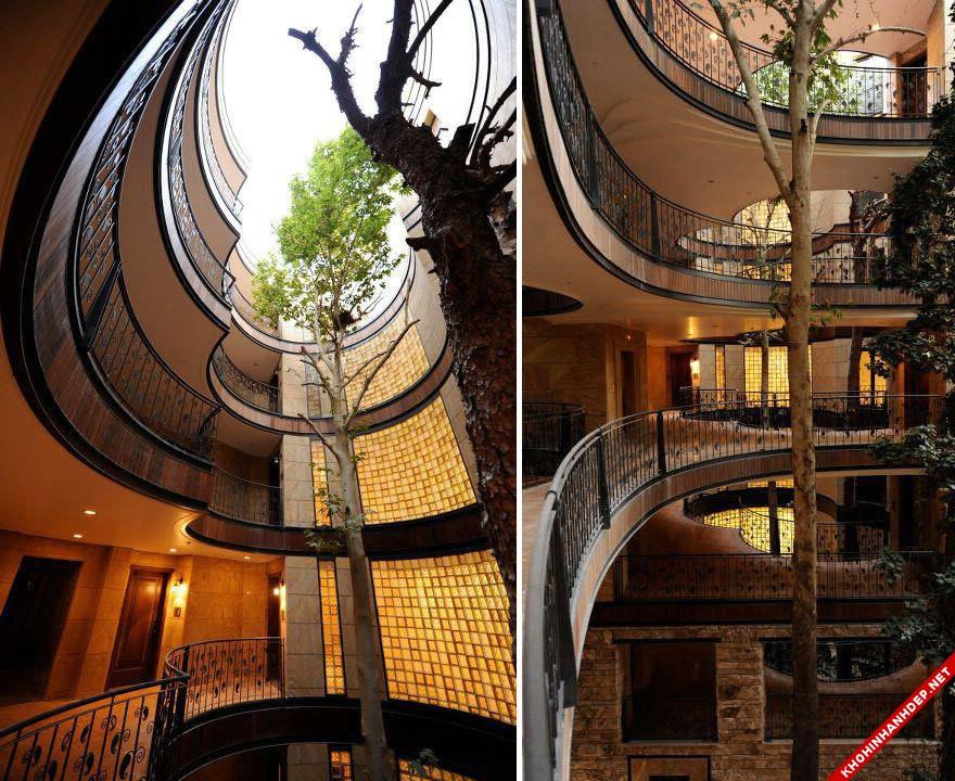 Hình ảnh những ngôi nhà đẹp thiết kế hài hước