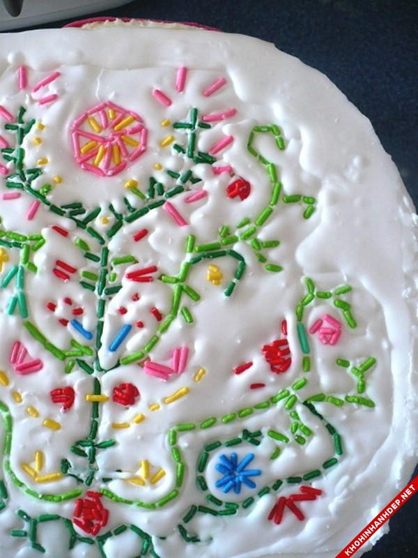 Những mẫu trang trí đẹp cho bánh sinh nhật