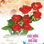 Những hình ảnh đẹp nhất về ngày nhà giáo Việt Nam 20/11