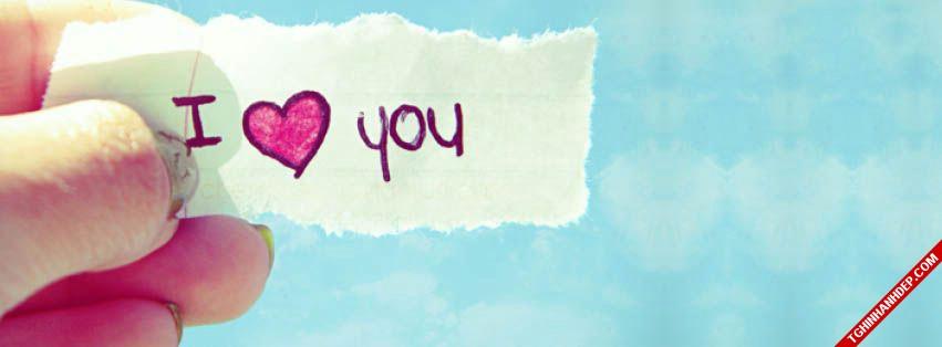 Bộ ảnh bìa Facebook dễ thương cho cô nàng đang yêu