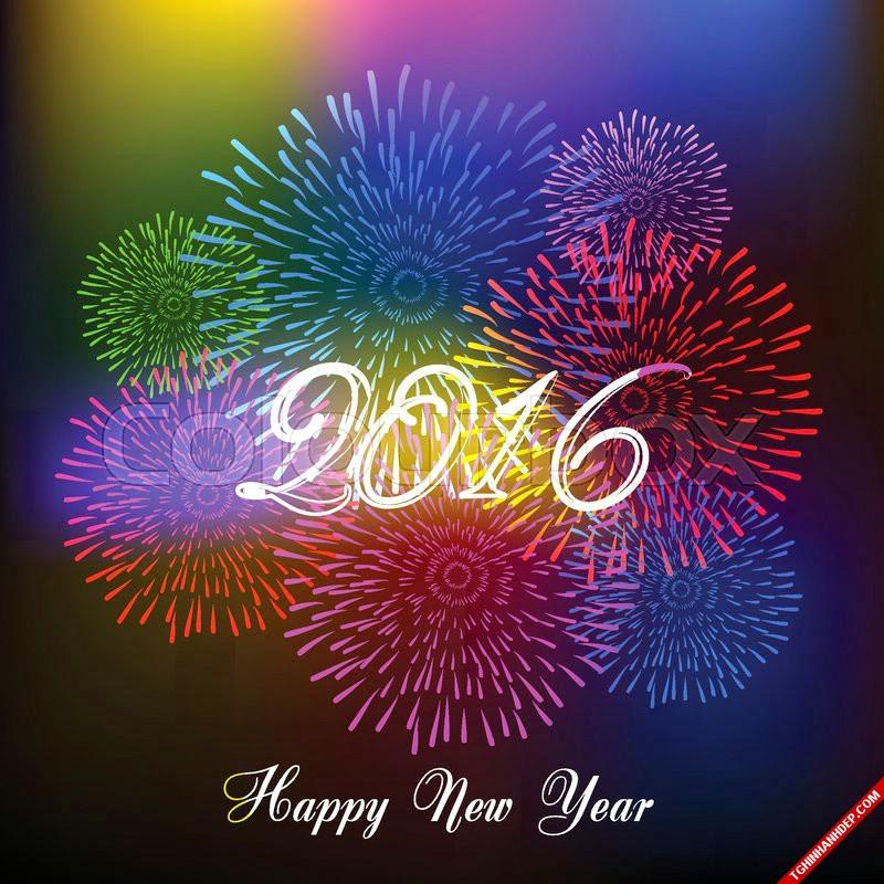 Bộ hình nền năm mới 2016 mới nhất cho dế yêu