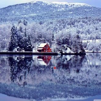 Bộ sưu tập cảnh đẹp về tuyết rơi mùa đông