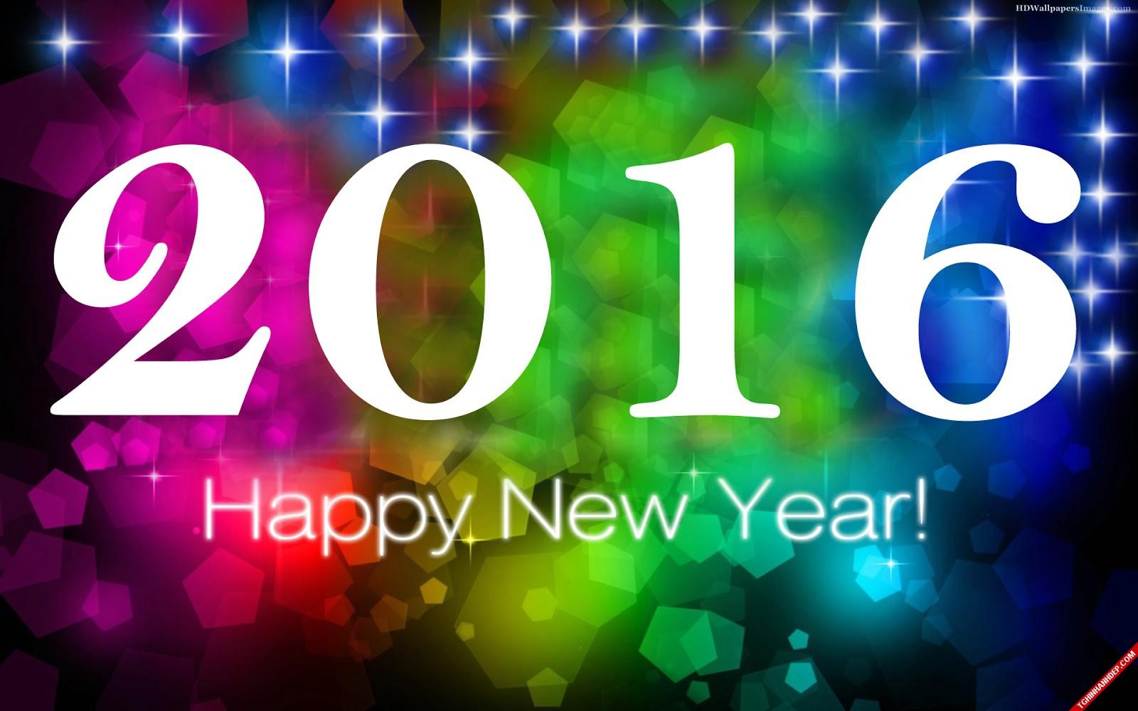 Bộ sưu tập hình nền chúc mừng năm mới 2016 đẹp nhất