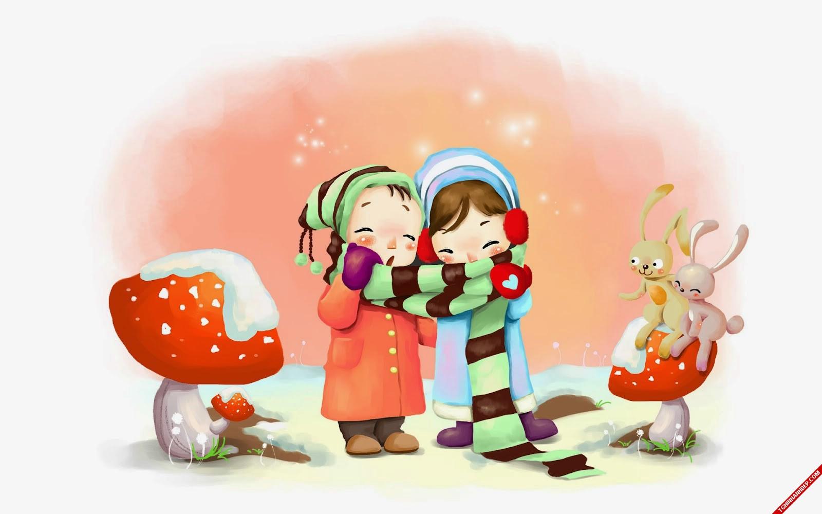 Hình ảnh đẹp về tình yêu của các cặp đôi trong mùa đông
