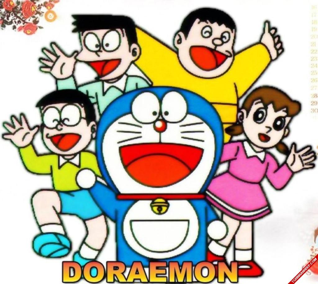 Bộ sưu tập ảnh về Doremon và những người bạn vui nhộn