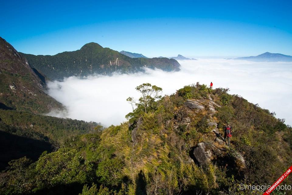 Cảnh đẹp núi Bạch Mộc Lương Tử cho ai muốn khám phá