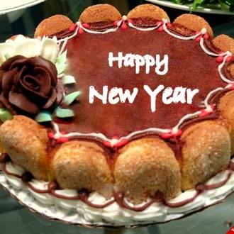Những chiếc bánh kem chủ đề mừng năm mới đẹp nhất