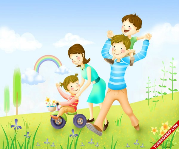 Những hình ảnh đẹp về tình yêu gia đình