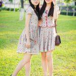 Trọn bộ ảnh đẹp của cặp chị em sinh đôi xứ Nghệ