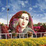 Chiêm ngưỡng vẻ đẹp tuyệt vời của vườn hoa Miracle Garden (Dubai)