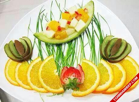 Hình ảnh trái cây cực đẹp với sự sáng tạo độc đáo