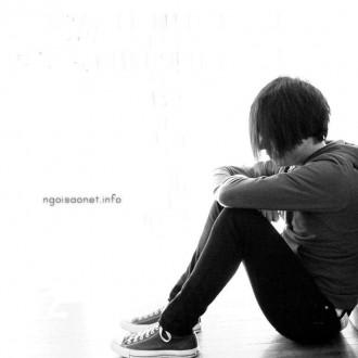 Hình nền tình yêu cô đơn khiến trái tim buồn bã