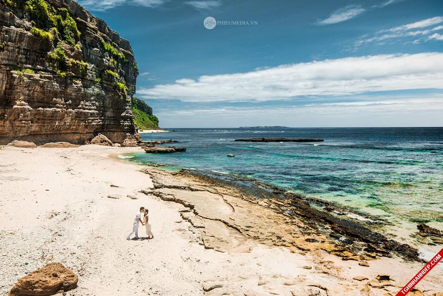 Đã mắt với bộ ảnh cưới trên đảo Lý Sơn