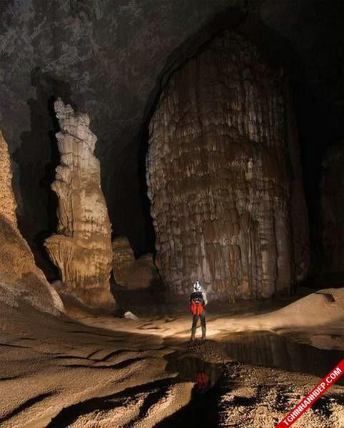 Ngẩn ngơ trước vẻ đẹp nguyên sơ của hang Sơn Đoòng