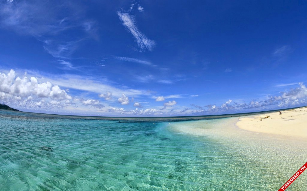 Những hình ảnh đẹp nhất về biển xanh khi hè đến