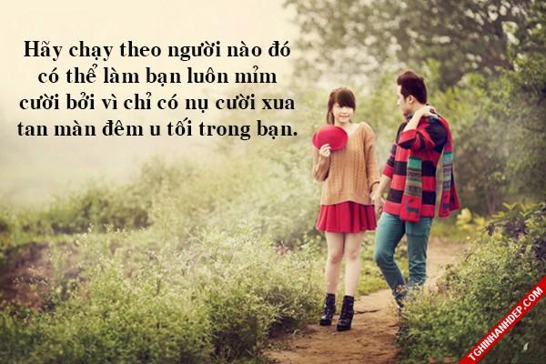 10 status ý nghĩa dành cho người đang yêu