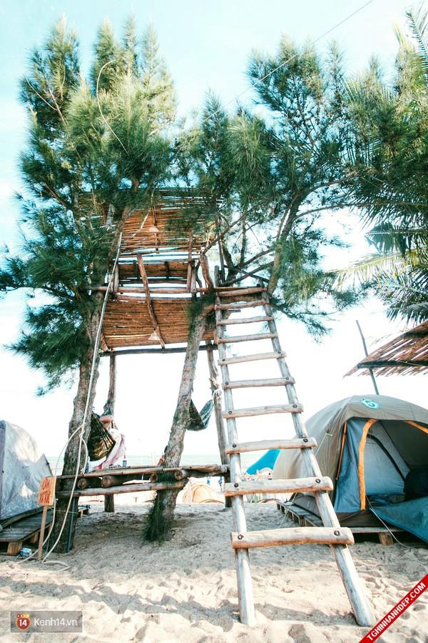Ảnh đẹp biển Bình Thuận ở khu cắm trại Coco Beach Camp