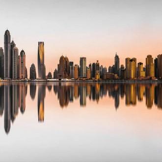 Đã mắt với hình ảnh Dubai xinh đẹp từ góc nhìn trên cao