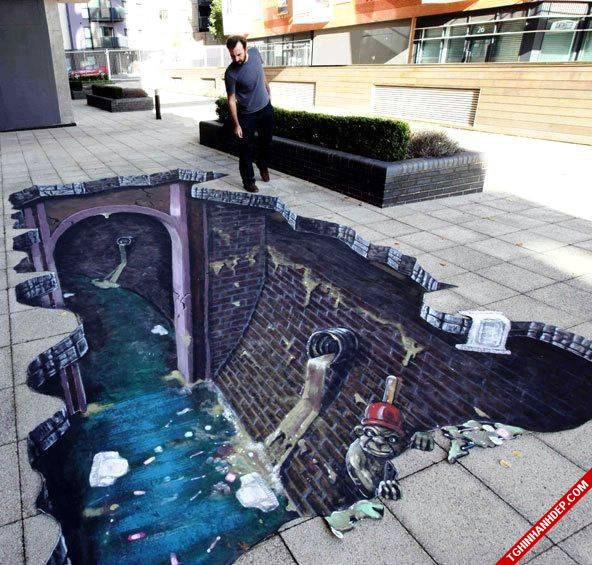 Hình ảnh 3D đường phố đẹp mắt và độc đáo nhất