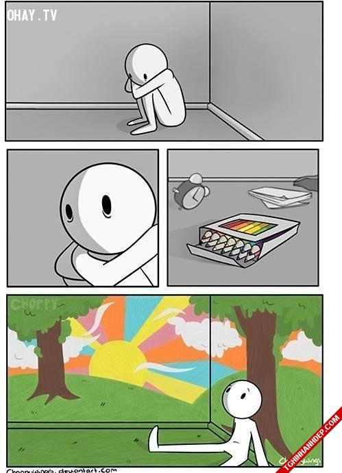 Những bài học ý nghĩa cho cuộc sống từ các bức tranh