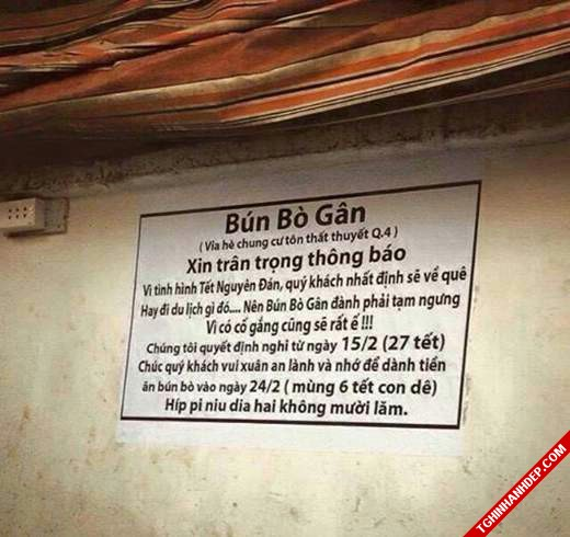 Những hình ảnh quảng cáo hài hước chỉ có ở Việt Nam