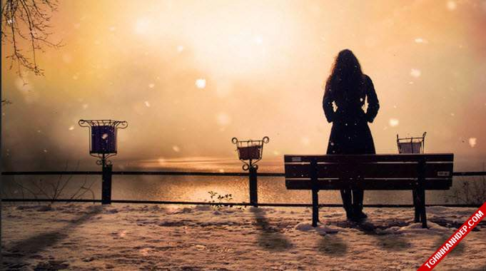 Ảnh bìa facebook đẹp về tâm trạng buồn chán cô đơn