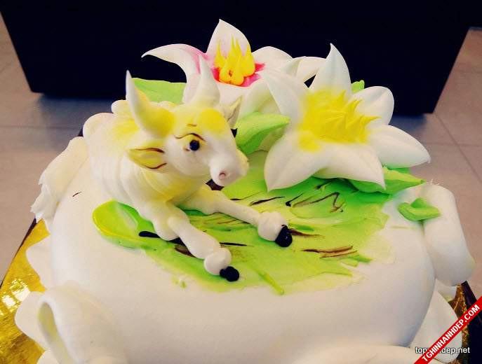 Gợi ý mẫu bánh sinh nhật dễ thương cho 12 con giáp – Tuổi Sửu