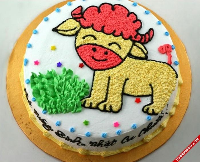 Những mẫu bánh kem dễ thương tặng cho bạn gái trong dịp sinh nhật