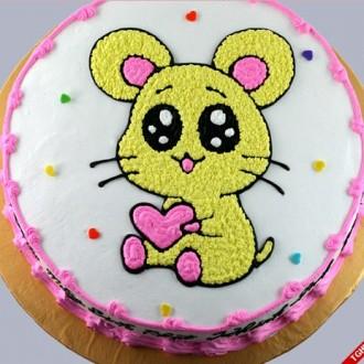 Gợi ý mẫu bánh sinh nhật dễ thương cho 12 con giáp – Tuổi Tý