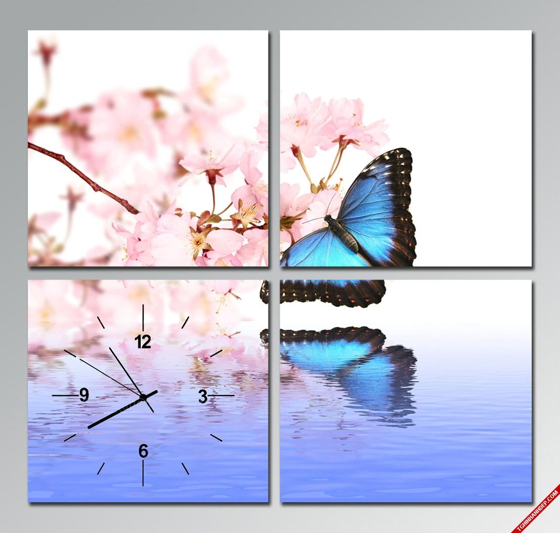 Những mẫu tranh đông hồ hình hoa và phong cảnh